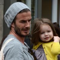 David Beckham : son dernier tatouage ? Un dessin de sa fille Harper, 4 ans