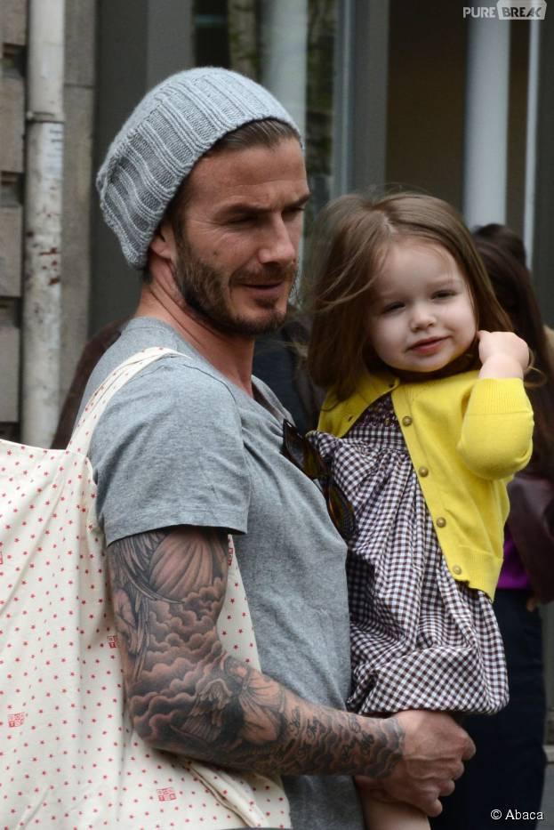 David Beckham s'est fait tatouer un dessin de sa fille