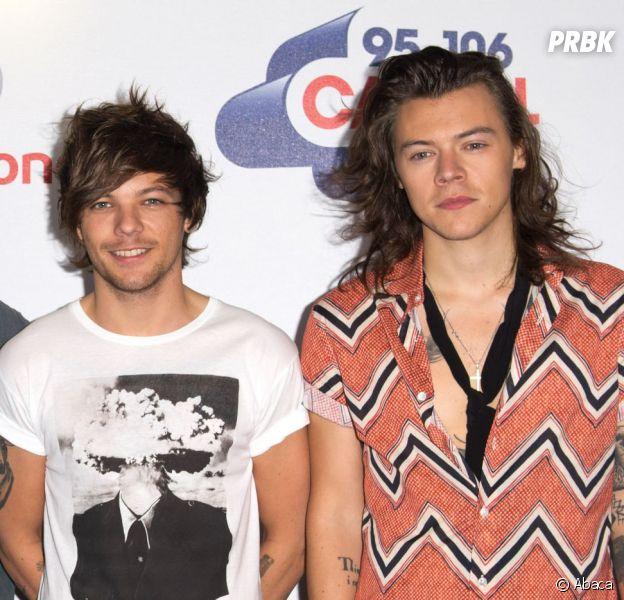 Les One Direction sous tension ? Harry Styles et Louis Tomlinson seraient en guerre