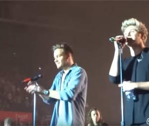 One Direction : câlin et joli discours pour le final de la tournée On The Road à Sheffield en Angleterre, le 31 octobre 2015