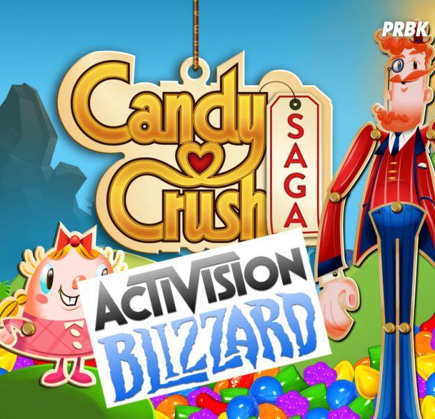 Activision rachète King, l'éditeur de Candy Crush Saga