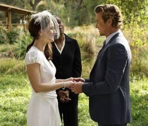 Mentalist saison 7 : photo du mariage de Jane et Lisbon