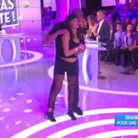 Brahim Zaibat et Erika Moulet : danse sensuelle et glamour dans TPMP
