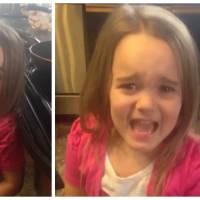 Une petite fille apprend qu'elle va ENCORE avoir un petit frère, son craquage est adorable !