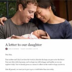 Mark Zuckerberg papa engagé : le fondateur de Facebook présente sa fille et fait don de ses actions