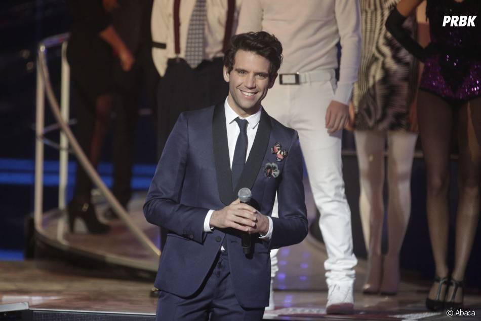 Mika à la soirée du Téléthon sur France 2 le 5 décembre 2015