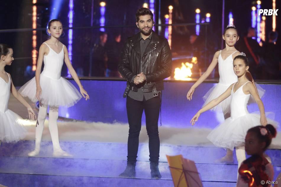 Kendji Girac chante à la soirée du Téléthon sur France 2 le 5 décembre 2015