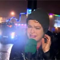 Une présentatrice météo affronte une tempête à la télé et devient star du web