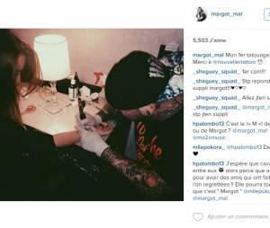 Ma2x : sa copine Margot Malmaison se fait tatouer en même temps que lui