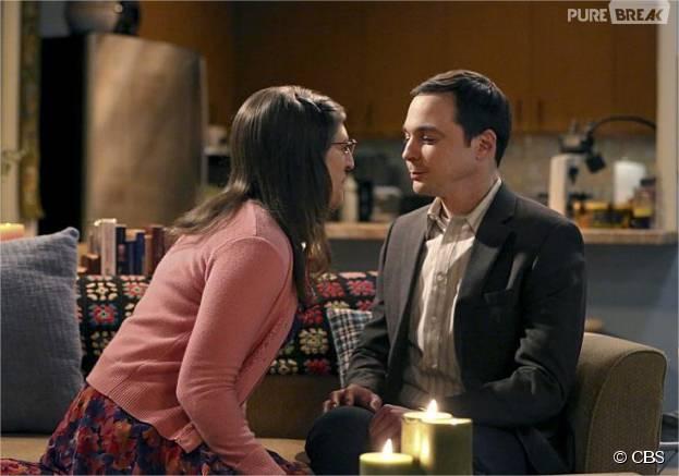 The Big Bang Theory saison 9 : Sheldon et Amy prêts à coucher ensemble dans l'épisode 11