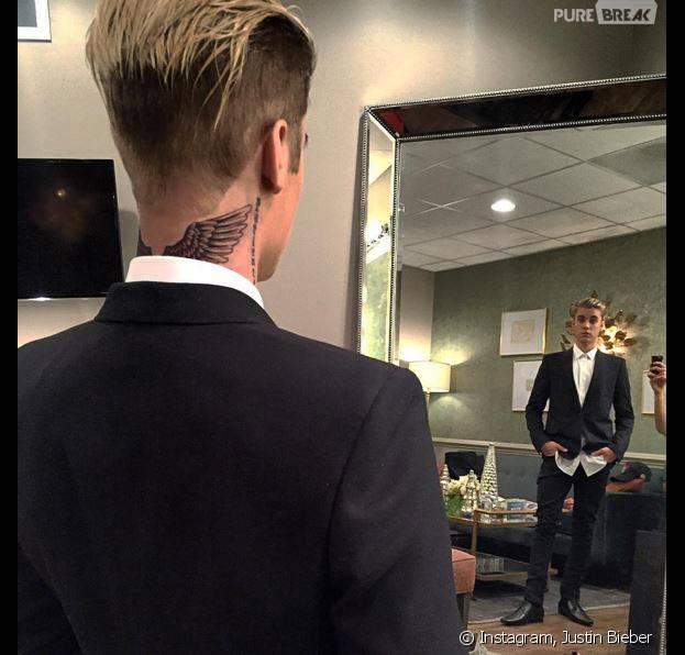 Justin Bieber Nouveau Tatouage Xxl A La David Beckham Dans Le Cou