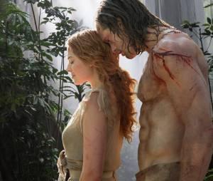 Alexander Skarsgard et Margot Robbie dans Tarzan