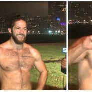 Ce mec canon et célibataire courait torse nu sous la pluie et a cassé Internet !