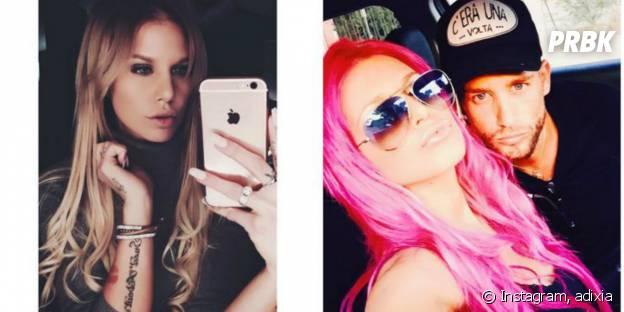 Adixia (Les Ch'tis) a adopté les cheveux roses en 2015