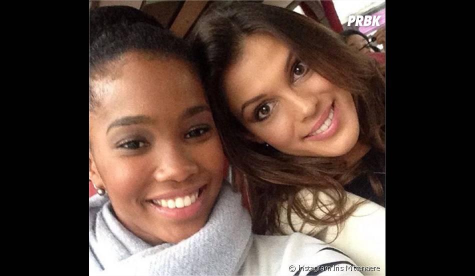 Iris Mittenaere (Miss France 2016) et Morgane Edvige (Miss Martinique) complices sur Instagram