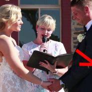 Un petit garçon interrompt un mariage : la raison a fait mourir de rire les mariés et les invités
