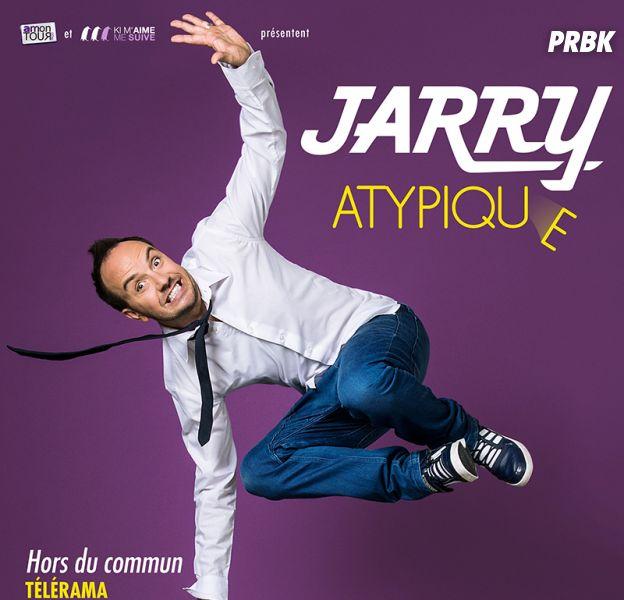 Jarry en tournée avec son spectacle Atypique en 2016