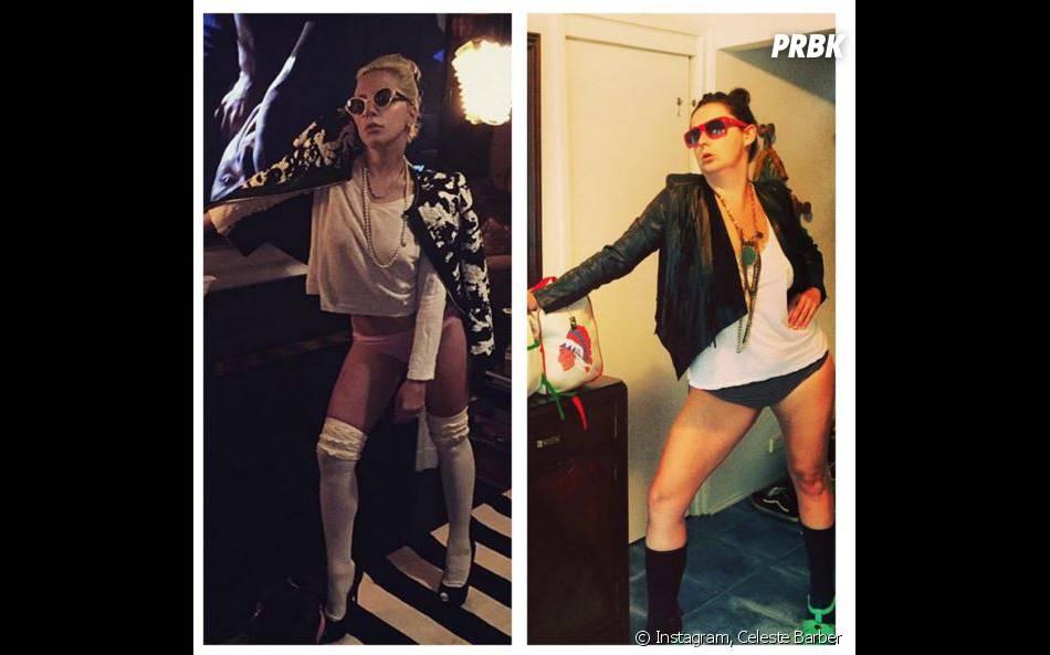 Celeste Barber parodie les photos ridicules de Lady Gaga