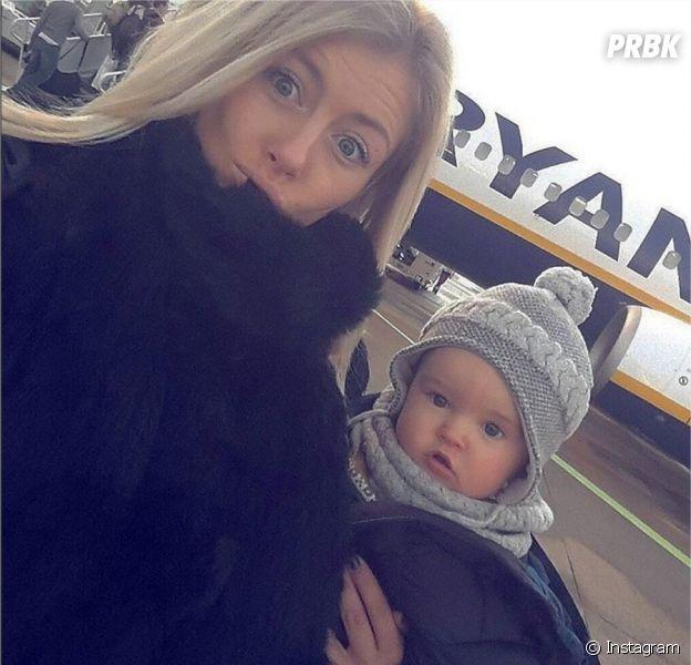 Stéphanie Clerbois et son fils Lyam