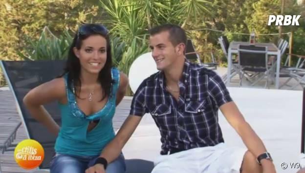 Kelly Helard à l'époque des Ch'tis à Ibiza, sur W9