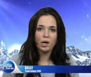 Kelly Helard dans Les Ch'tis font du ski