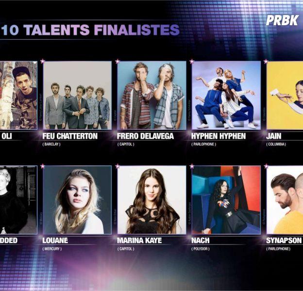 Prix Talents W9 : les dix finalistes de l'édition 2016
