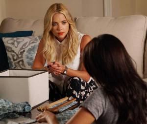 Pretty Little Liars saison 6, épisode 12 : Hanna (Ashley Benson) sur une photo