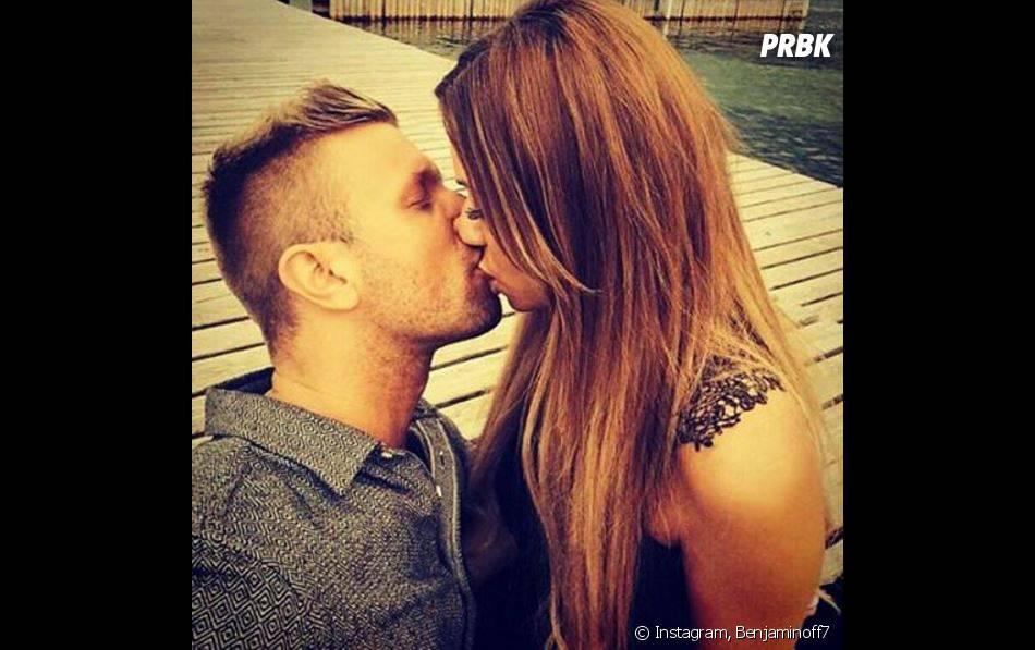Benjamin (Les Anges) et Sarah : couple heureux et amoureux sur Instagram, le 17 octobre 2015
