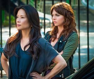 Elementary saison 3 : Ophelia Lovibond et Lucy Liu sur une photo