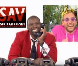 Omar et Fred dans le SAV des émissions sur Canal+
