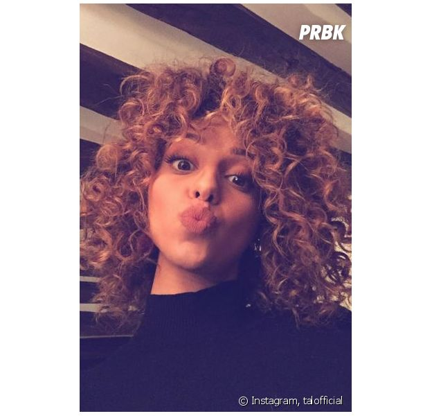 Tal change de coupe de cheveux et dévoile le résultat sur Instagram, le 18 janvier 2016