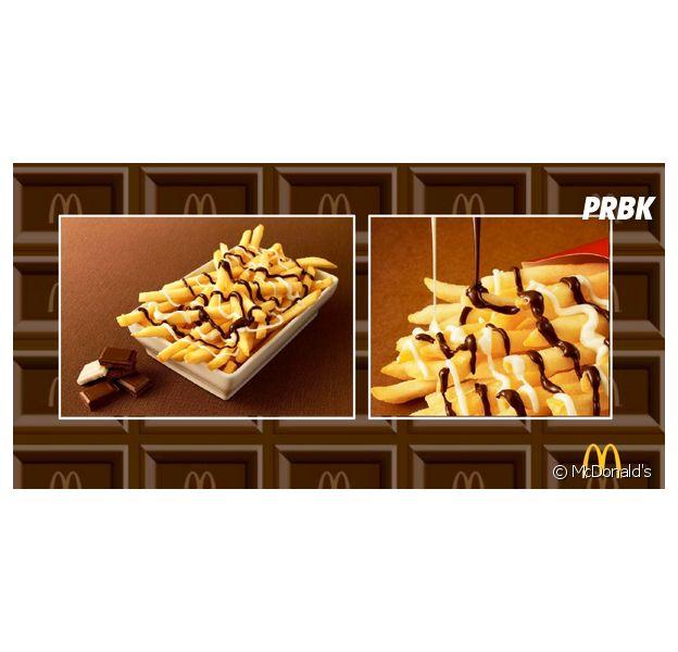 Mc Donald's commercialise des frites au chocolat au Japon
