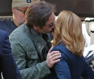 X-Files : David Duchovny et Gillian Anderson sur le tournage de la saison 10