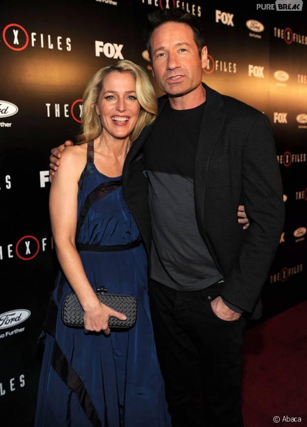X-Files : David Duchovny et Gillian Anderson en couple ? Il répond