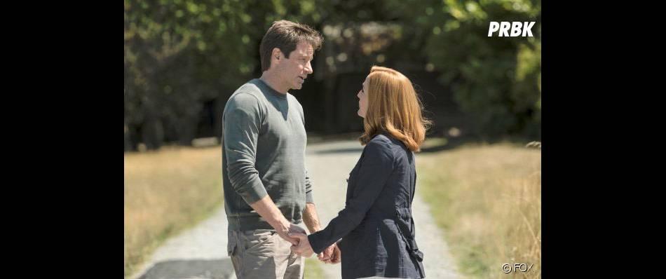 X-Files : David Duchovny et Gillian Anderson dans la saison 10