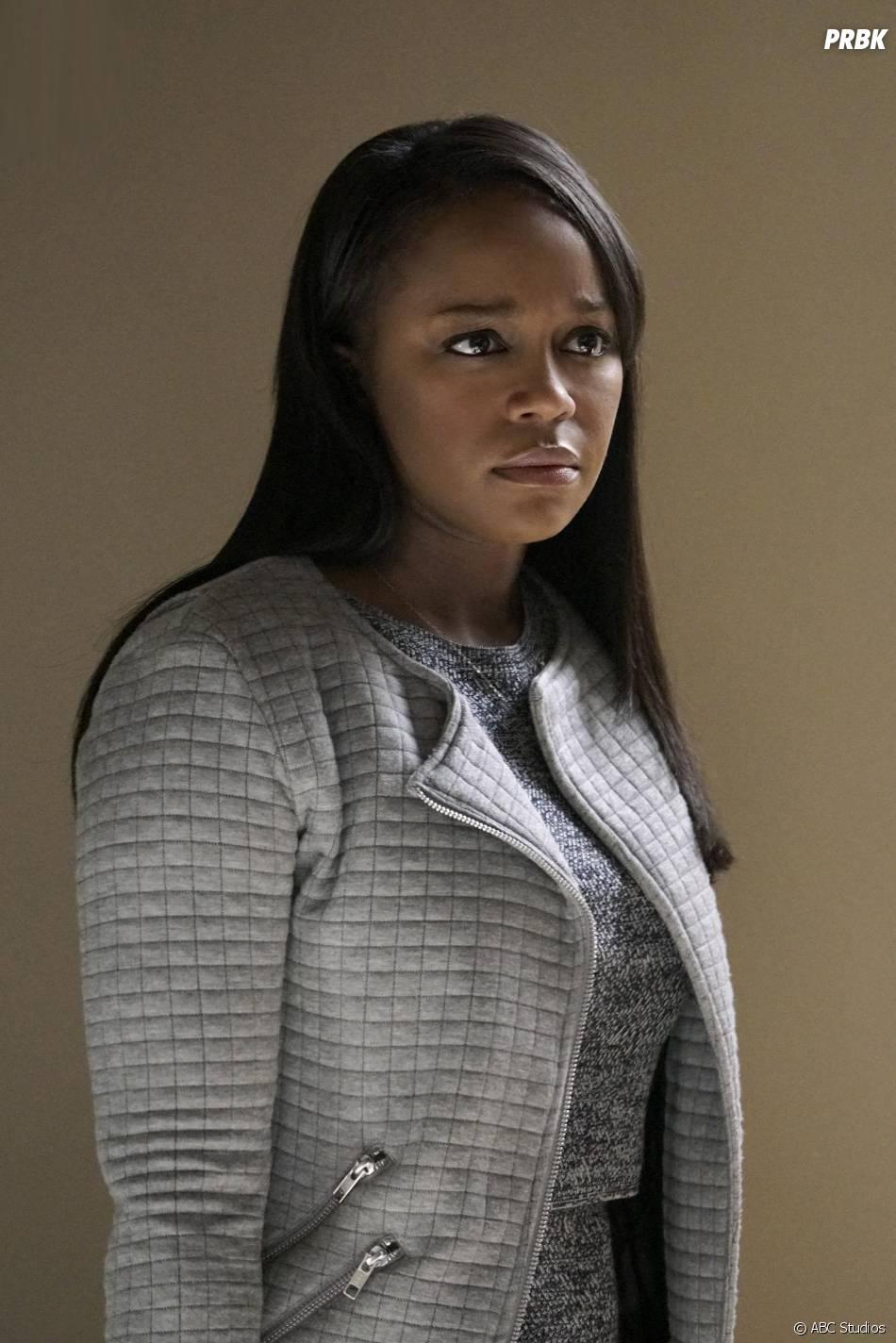 How To Get Away With Murder saison 2, épisode 11 : Michaela (Aja Naomi King) sur une photo