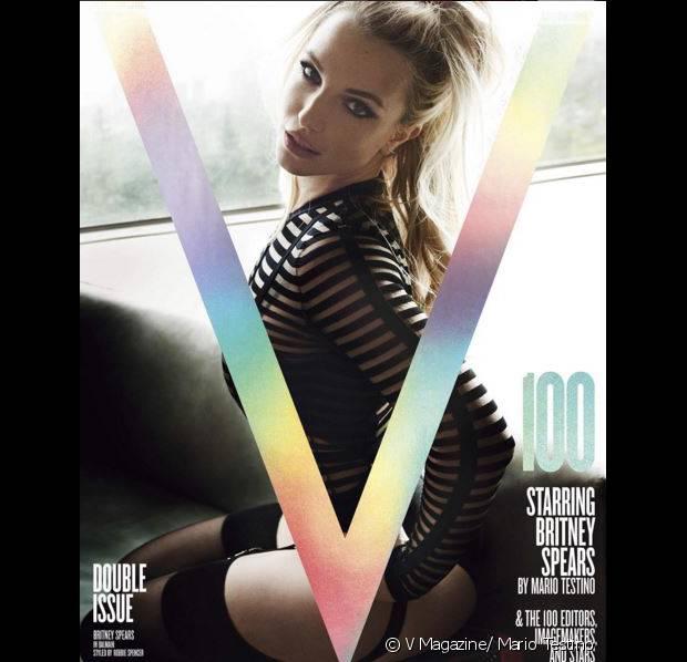 Britney Spears méconnaissable en Une de V Magazine