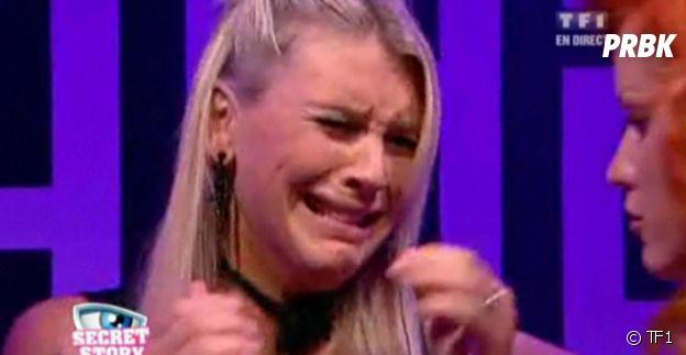 Amélie Neten en larmes dans Secret Story