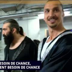Zlatan Ibrahimovic aux Enfoirés : le joueur du PSG intimidé par Sébastien Chabal lors du concert