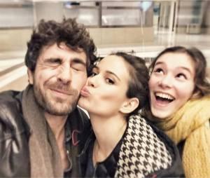 Clem saison 6 : Agustin Galiana, Lucie Lucas et Léa Lopez sur le tournage