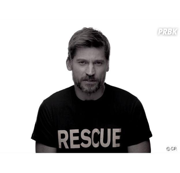 Game of Thrones : Nikolaj Coster-Waldau et les acteurs engagées pour les réfugiés