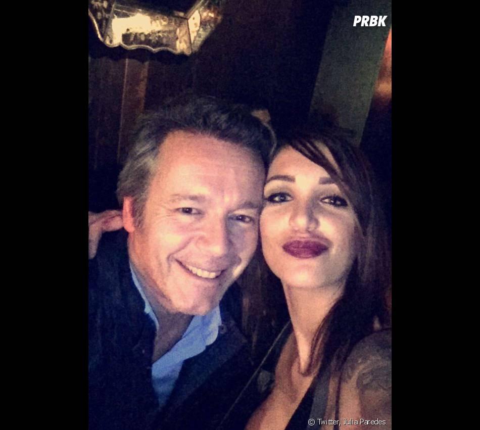 Julia Paredes et Jean Michel Maire amis sur Twitter le 14 mars 2016