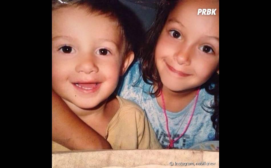 Nabilla Benattia et Tarek Benattia enfants : le cliché qui intrigue les abonnés de la bimbo
