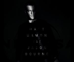 Jason Bourne : l'affiche teaser avec Matt Damon