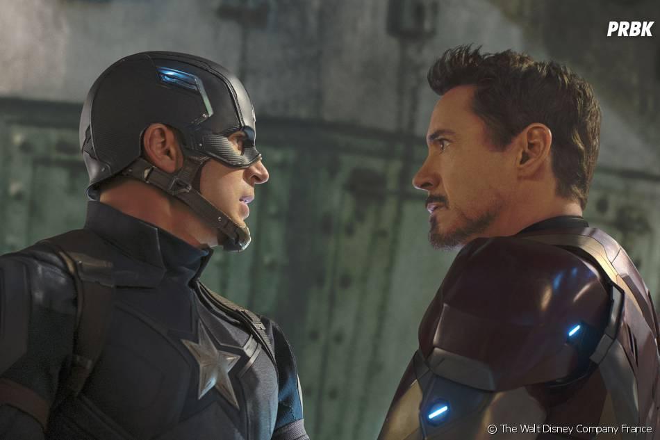 Captain America Civil War : Tony Stark VS Steve Rodgers