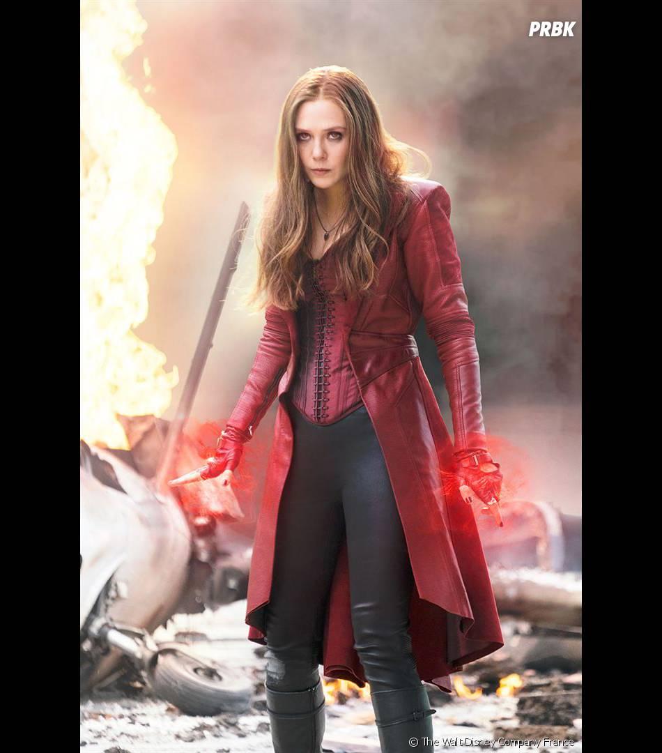 Captain America Civil War : Elizabeth Olsen en Scarlet Witch