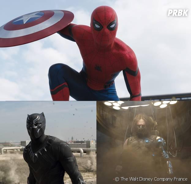 Captain America Civil War : 4 personnages qui volent la vedette à Captain America et Iron Man