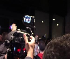 Miley Cyrus à New York avec ses fans