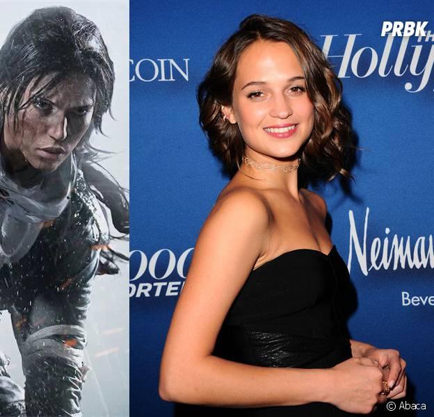 Alicia Vikander sera la nouvelle Lara Croft dans un film Tomb Raider