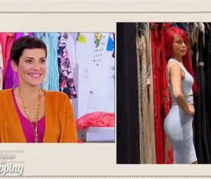 Les Reines du Shopping : Laurie remise en place par Cristina Cordula et un vendeur dans l'émission du 3 mai 2016